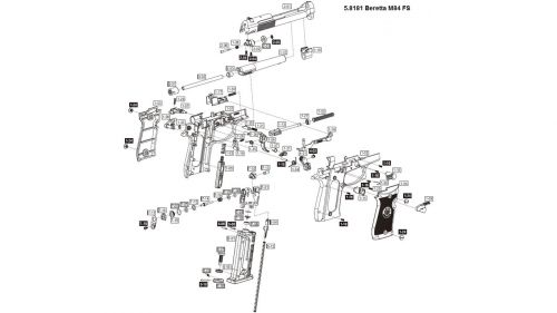umarex beretta spare parts