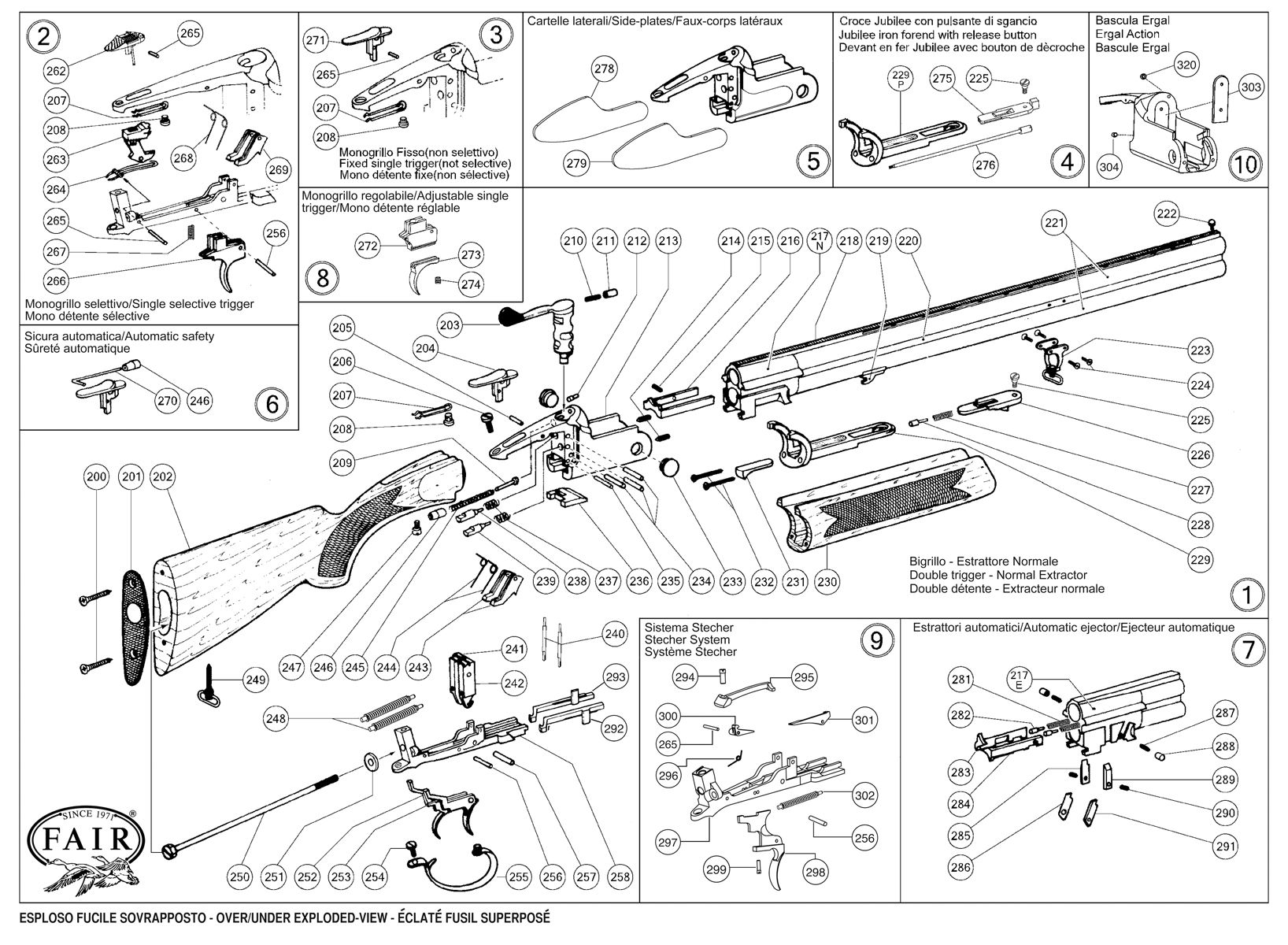 lincoln shotgun spare parts