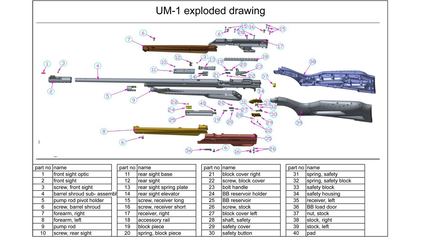 Umarex Spare Parts