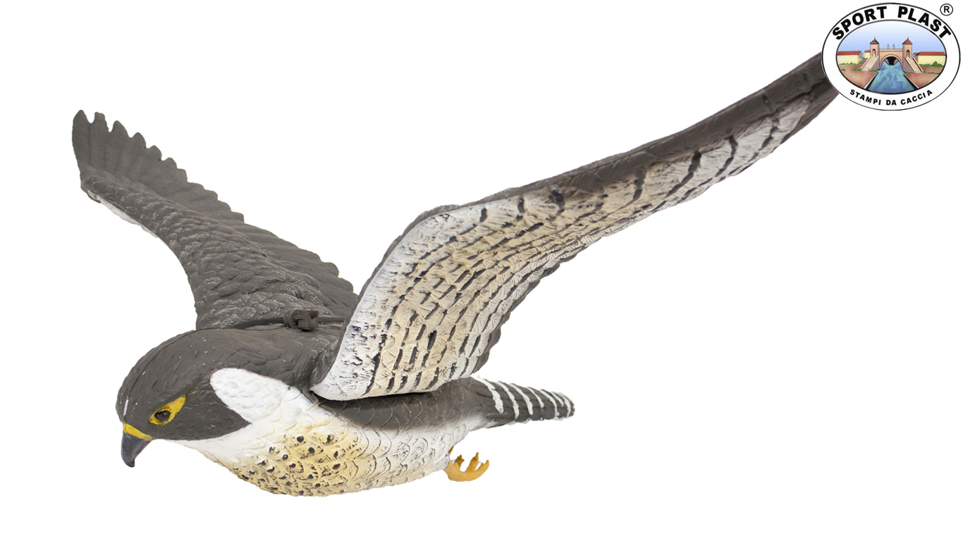 flying falcon decoy