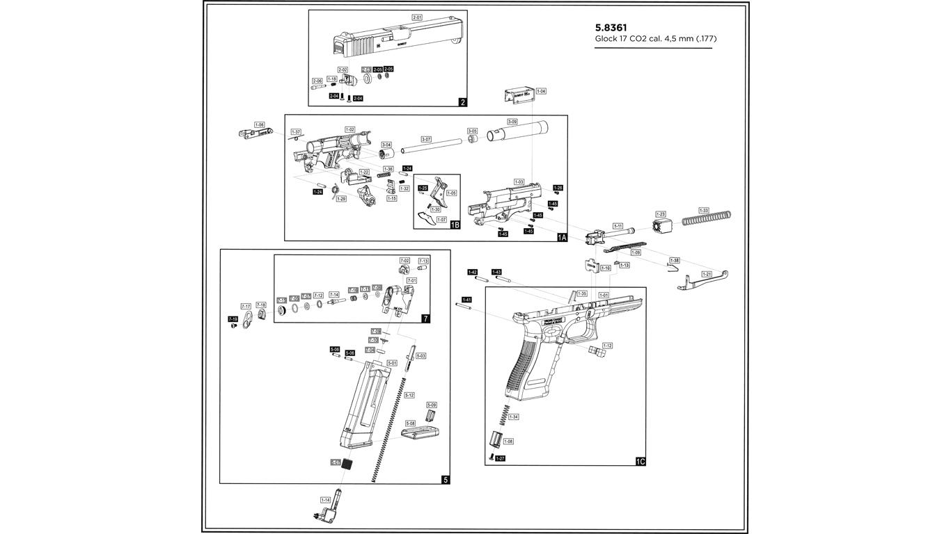 Fotos Glock 17 Diagram