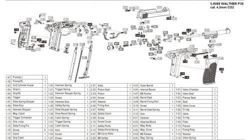 Walther Pp Parts Diagram | Repair Manual on